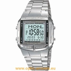 Casio DB360 2515 acier montre unisex vintage collection