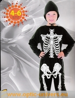 squelette 4/6  Ans Deguisement costume halloween